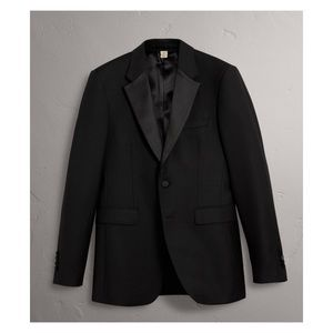 Burberry Modern Fit Wool Mohair Half-canvas Tuxedo